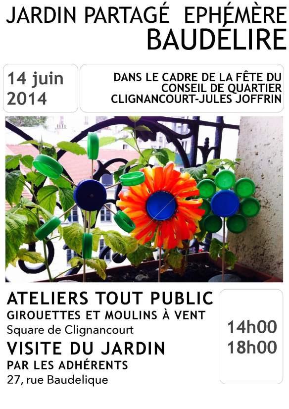 Affiche 14 juin BaudeÌlire