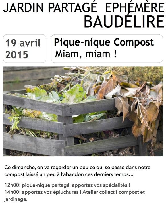 Affiche 19 avril Baudélire