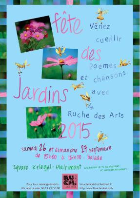 Affiche fete des jardins2015
