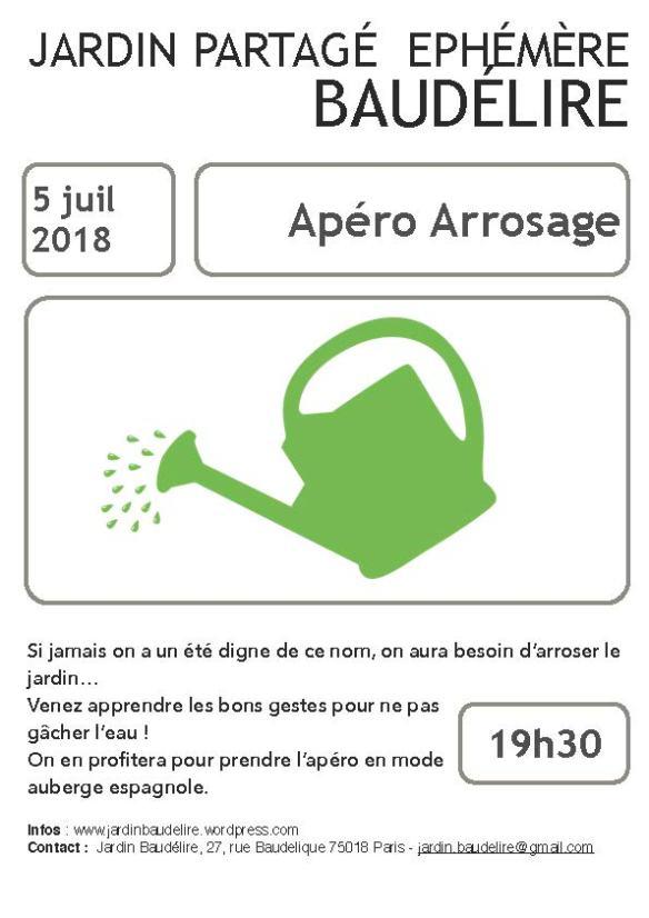 Affiche 5 juillet Baudélire