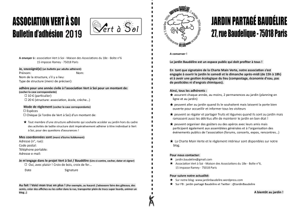 Baudelire-Bulletindadhesion-2016